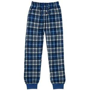 Plaid Fleece Lounge Pants